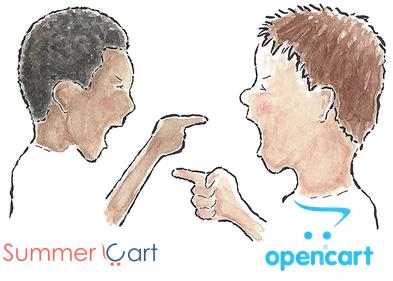 Преминаване от Summer Cart към Opencart
