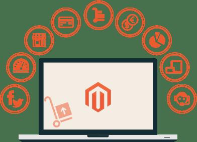 създаване на онлайн магазин с magento